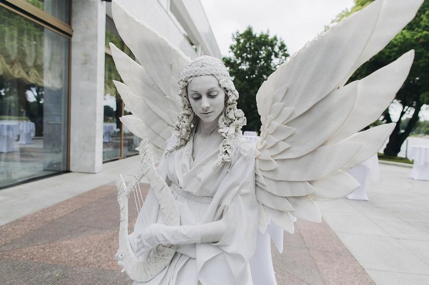 фото живые скульптуры